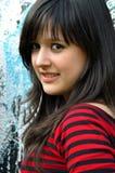 Sonrisa adolescente Imagenes de archivo
