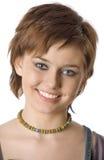 Sonrisa adolescente Fotos de archivo