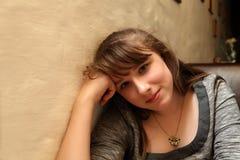 Sonrisa adolescente Foto de archivo