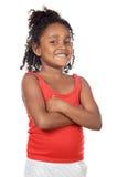 Sonrisa adorable de la muchacha Fotos de archivo