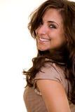 Sonrisa agradable Foto de archivo libre de regalías
