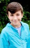 Sonrisa agradable del muchacho del preadolescente Imagenes de archivo