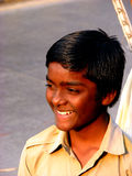 Sonrisa amplia Imagen de archivo libre de regalías