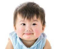 Sonrisa asiática de la niña Fotos de archivo