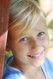 Sonrisa asoleada Imagen de archivo
