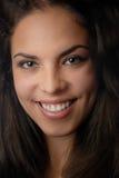 Sonrisa atractiva Fotografía de archivo libre de regalías