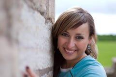 Sonrisa bonita Foto de archivo libre de regalías