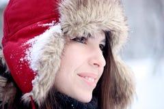 Sonrisa bonita joven de la mujer Foto de archivo libre de regalías