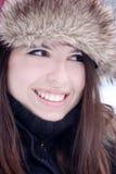 Sonrisa bonita joven de la mujer Foto de archivo