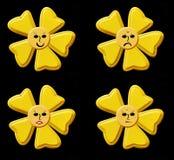 Sonrisa, botones Foto de archivo libre de regalías