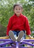 sonrisa china de los niños fotografía de archivo libre de regalías