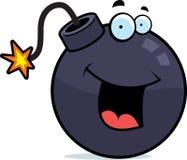 Sonrisa de la bomba Imagen de archivo libre de regalías
