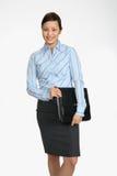 Sonrisa de la empresaria de Asain foto de archivo libre de regalías