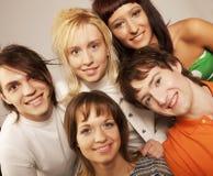 Sonrisa de la gente joven foto de archivo