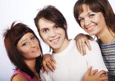 Sonrisa de la gente joven imagen de archivo libre de regalías