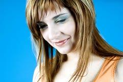 Sonrisa de la muchacha Imágenes de archivo libres de regalías