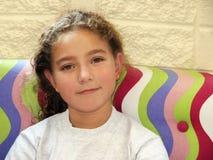 Sonrisa de la muchacha Imagen de archivo