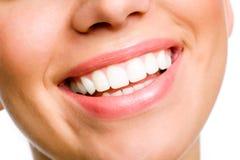 Sonrisa de la mujer Fotos de archivo