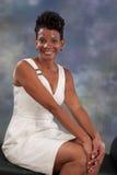 Sonrisa de la mujer Imágenes de archivo libres de regalías