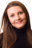 Sonrisa de la mujer joven Foto de archivo libre de regalías