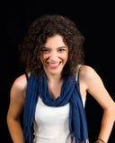 Sonrisa de la mujer joven Fotografía de archivo