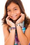 Sonrisa de la niña Foto de archivo libre de regalías