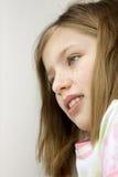 Sonrisa de la niña Imagen de archivo libre de regalías