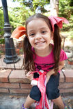 Sonrisa de la niña Fotografía de archivo