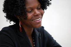 Sonrisa de la señora joven Foto de archivo