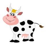 Sonrisa de la vaca Fotos de archivo