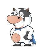 Sonrisa de la vaca del super héroe libre illustration