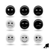 Sonrisa de los botones Fotografía de archivo