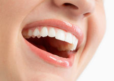 Sonrisa de los dientes Fotografía de archivo libre de regalías