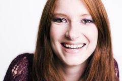 Sonrisa de los modelos Imágenes de archivo libres de regalías
