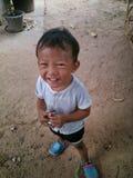 Sonrisa de los niños Imagen de archivo