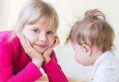 Sonrisa de los niños Imagen de archivo libre de regalías