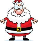 Sonrisa de Papá Noel ilustración del vector