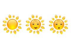 Sonrisa de Sun Fotografía de archivo