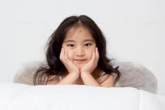 Sonrisa de un ángel Imagen de archivo libre de regalías