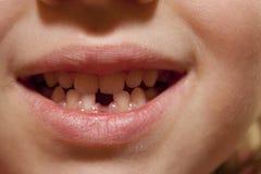 Sonrisa de un niño Imagenes de archivo