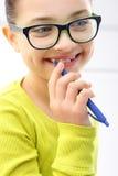 Sonrisa de un niño Imagen de archivo libre de regalías