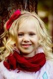 Sonrisa de un niño Imágenes de archivo libres de regalías