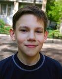 Sonrisa del adolescente Imágenes de archivo libres de regalías