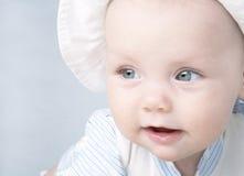 Sonrisa del bebé foto de archivo
