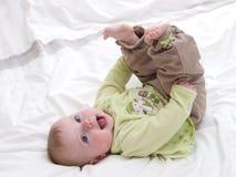 Sonrisa del bebé Fotografía de archivo