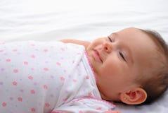 Sonrisa del bebé Fotos de archivo