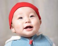 Sonrisa del bebé Imágenes de archivo libres de regalías
