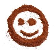 Sonrisa del café fotografía de archivo libre de regalías