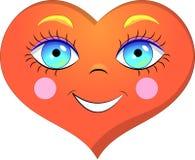 Sonrisa del corazón Fotografía de archivo libre de regalías
