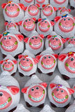Sonrisa del estuco de las ovejas Foto de archivo libre de regalías